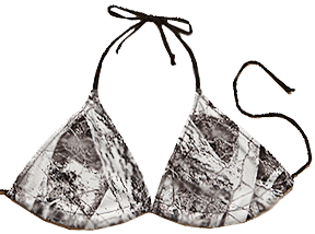 Remarkable, nude string bikini are