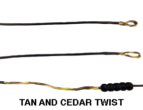 "Barracuda Tan/Cedar String 98 1/2"""