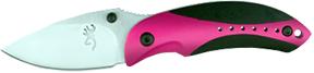 Browning Minnon Folding Knife Neon Pink/Black