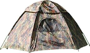 Camo Hexagon Dome Tent