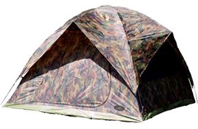Square Dome Tent Camo
