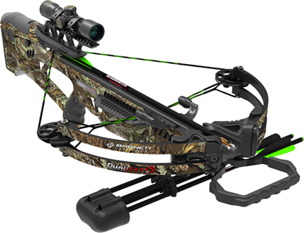16 Quad Edge S Camo Crossbow Package w/4x32 Scope