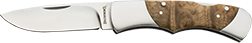 Browning Pursuit w/Burl Wood Folder Knife