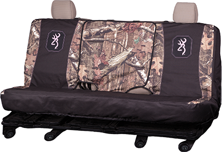 Browning Full Size Bench Seat Cover MO Infininty w/Pink Trim