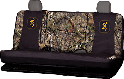 Browning Mid Size Bench Seat Cover MO Brkup Country/Black