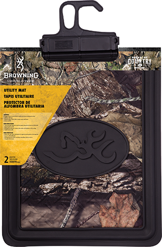 Browning Back Seat Floor Mat Mossy Breakup Country w/Black