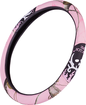 Bone Collector 2-Grip Steering Wheel Cover Realtree Pink