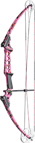 17 Gen X Bow Pink Camo Right Hand
