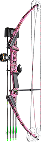17 Gen X Bow Kit Pink Camo Right Hand