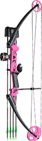 17 Gen X Bow Kit Pink Right Hand
