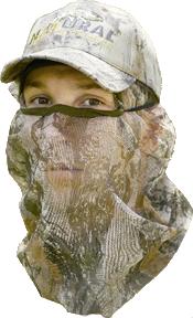 Mask 3/4 Natural Camo