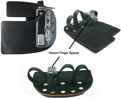 Black Mamba Original Finger Tab w/Venom Spacer Right Hand