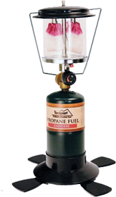 Double Mantle Propane Lantern