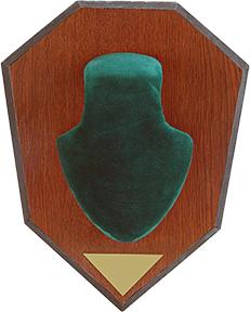 Allen Antler Mounting Kit Green Skull Cap