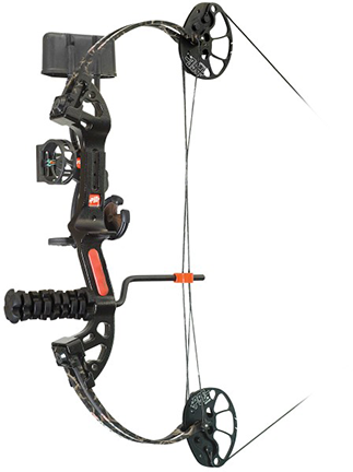 "16 Mini Burner XT RTS Package RH 25"" 29# Skullworks Camo"