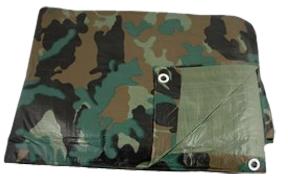 Ripstop Tarp Camo 10'x12'