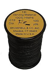 1-D Serving.019 Black 100 yd