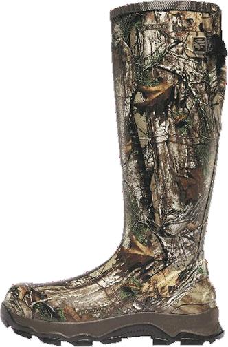 """4X Burly 18"""" Boot Realtree Xtra Size 8"""