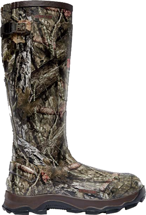 "4X Burly 18"" 800g Boot Mossy Oak Breakup Country Size 8"