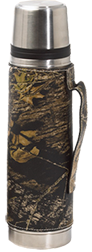 Leather Vacuum Bottle Breakup Camo