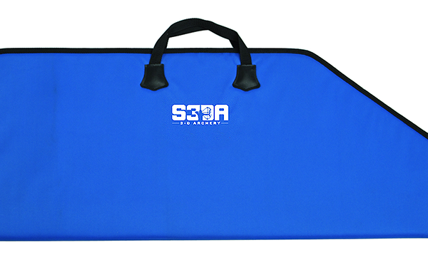 Neet S3DA Single Bowcase 42x17 Blue w/Black Trim