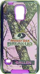 Allen Galaxy S5 Cell Phone Case Pink Breakup Infinity