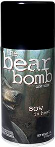 * Buck Bomb Bear Sow In Heat 3oz