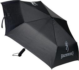 Browning Travel Umbrella Black & Gray Buckmark