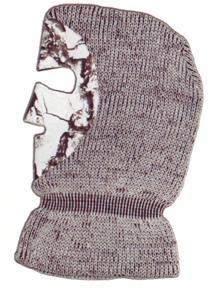Knit Facemask Snow Camo OSFA