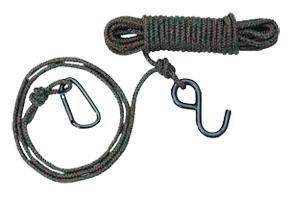 30' Rope w/Carabiner