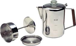 18/8 Stainless Steel 9-Cup Percolator