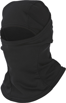 Fleece Balaclava w/X System Tech Black OSFM