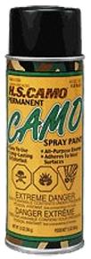 *12oz Flat Black Camo Spray Paint