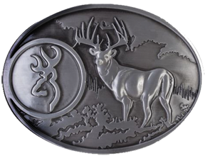 Browning Scenic Belt Buckle