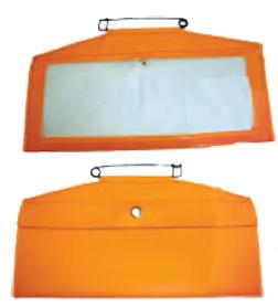 HME Large Orange License Holder