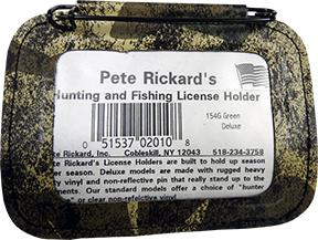 Hunting License Holder Camo 154G