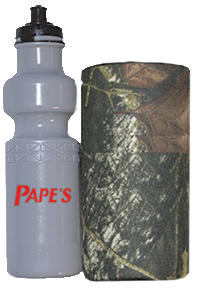 Water Bottle w/Camo Insulated Carrier