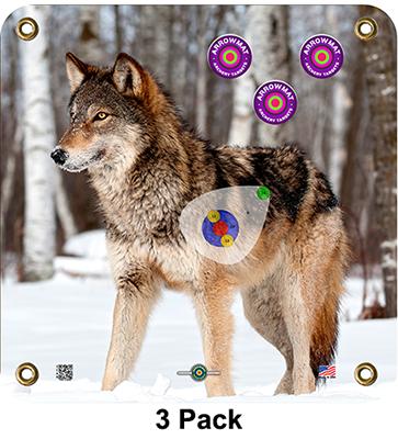 Arrow Mat Wolf Target 17x17