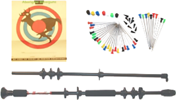 "Maverick 36"" Black Blowgun"