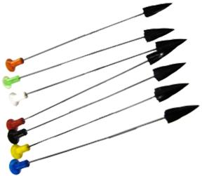 """Plastic Broadhead Darts 4"""""""
