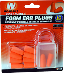 Walkers Foam Ear Plugs
