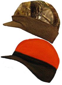 Knit Visor Reversible Cap Adventure Grey to Blaze