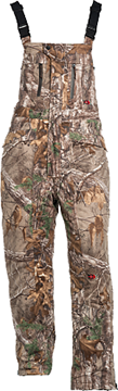 10X Silent Quest Insulated Bibs w/Scentrex Realtree Xtra Medium