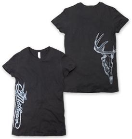 Mathews Ladies Black Lateral Short Sleeve Shirt Medium