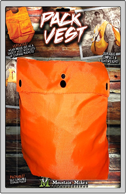 Meat/Safety Pack Vest