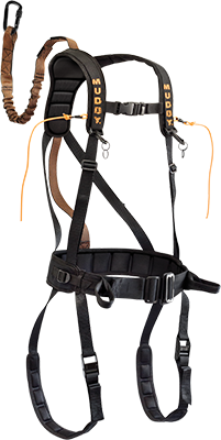 Safeguard Harness Black Xlarge