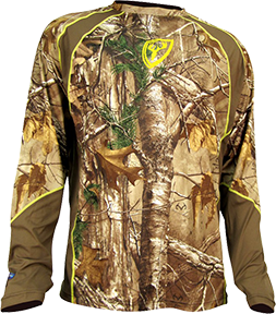1.5 Performance L/S Shirt  Lg Trinity Tech Realtree Xtra Camo