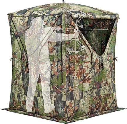 Big Mike Blind Blood Trail Backwoods Camo
