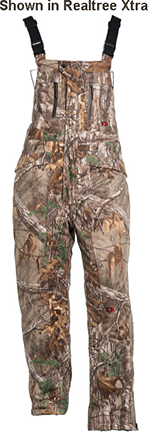 10X Silent Quest Insulated Bibs w/Scentrex Mossy Oak Country M