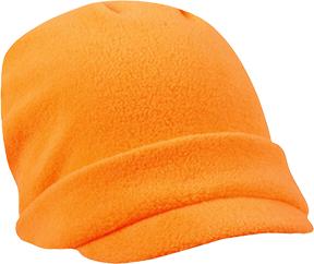 Lightweight Fleece Radar Cap Blaze Orange OSFM